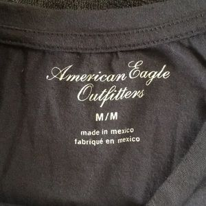 American Eagle Outfitters Tops - American Eagle crop top heart flag medium